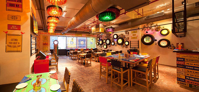 Architecture Interior Furniture Design Gurgaon ~ Dhaba by claridges at cyber hub gurgaon synthesis